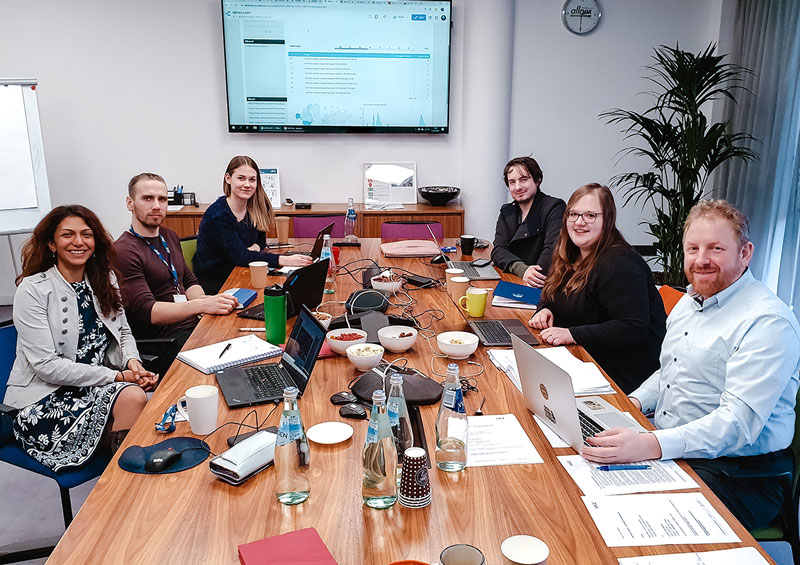 Kundentermin mit allnex vor Ort in Riga