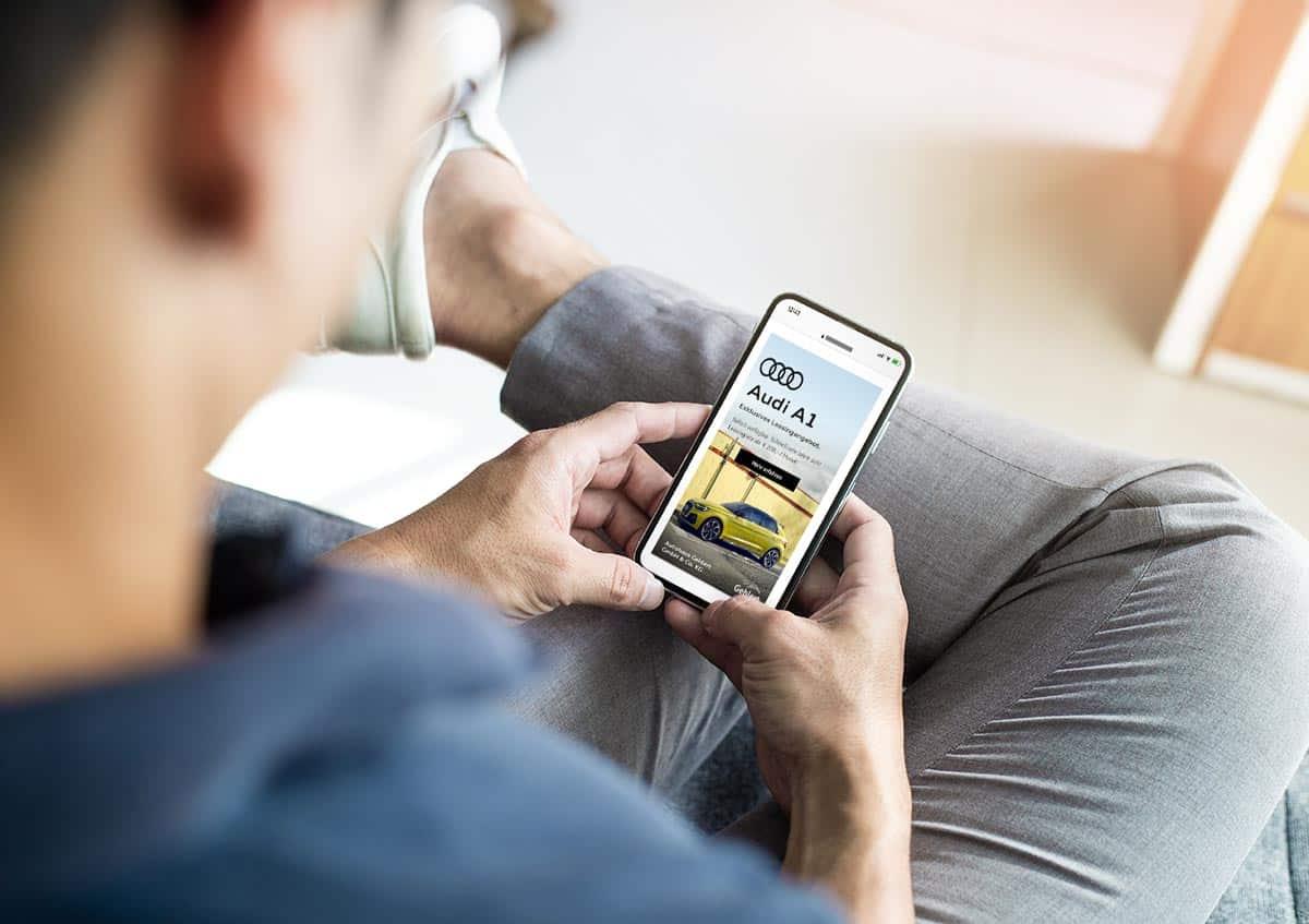 Mobile Ads für das Autohaus Gehlert