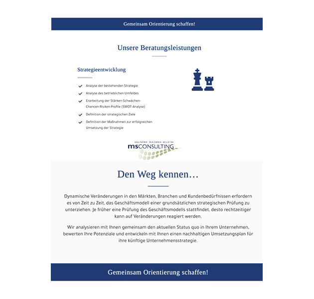 Layout MS Consulting