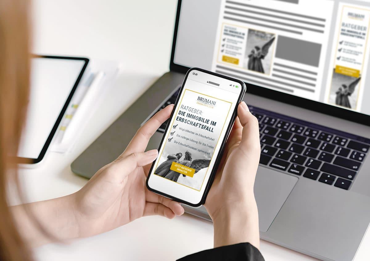 Google Ads für Immobilienmakler BRUMANI
