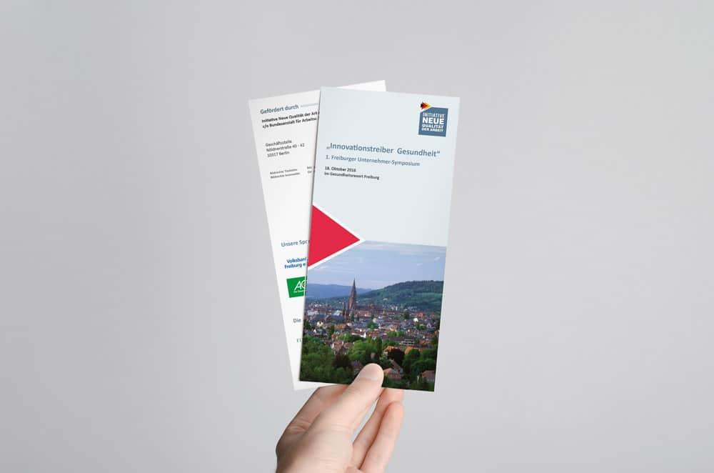 Grafikdesgin aus Freiburg: So erstellen wir Ihre Flyer