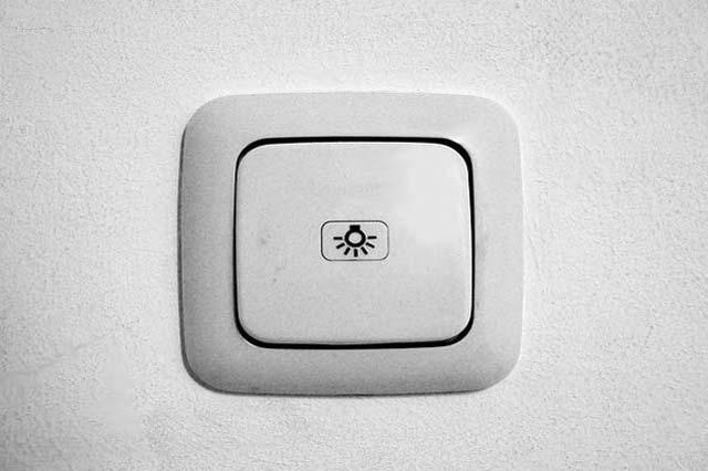 Licht ausschalten und Strom sparen