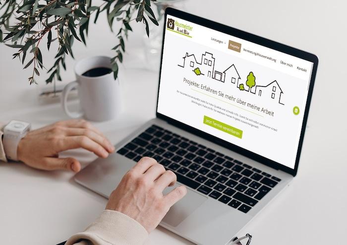 Projekte der neuen Website Hausmeisterservice Bär