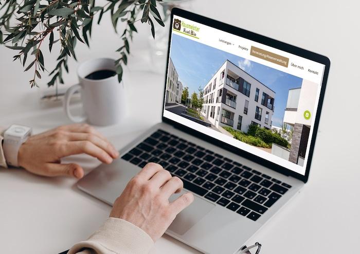 Neue Website Hausmeisterservice Bär