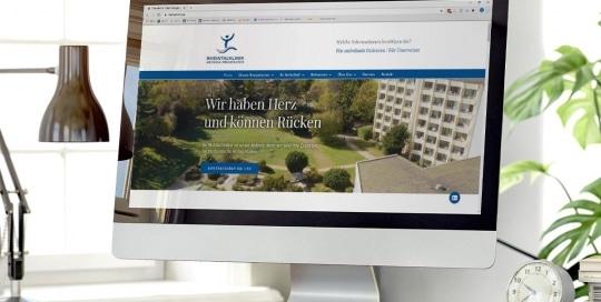 SEO & Webdesign für die Rheintalklinik