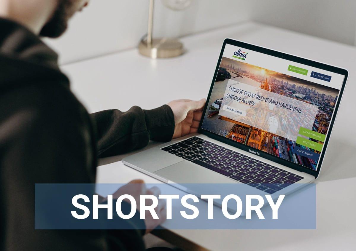 Shortstory zur Satelitenseite von Allnex