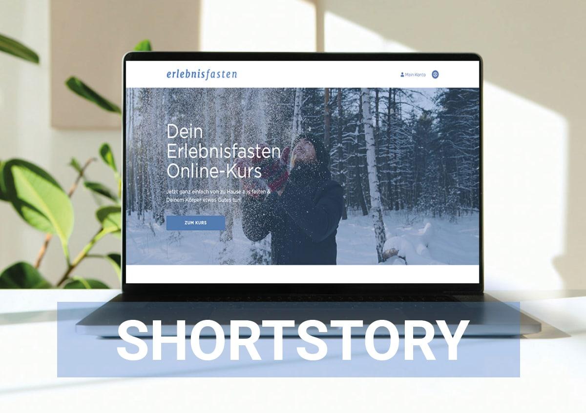 Shortstory zu dem Onlinefastenkurs von Erlebnisfasten