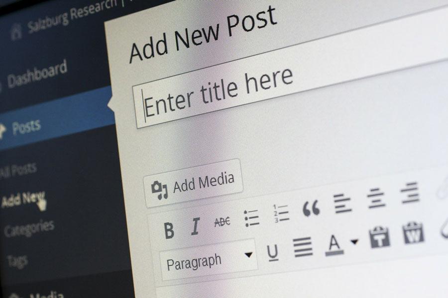 Wordpress: leicht zu bedienen